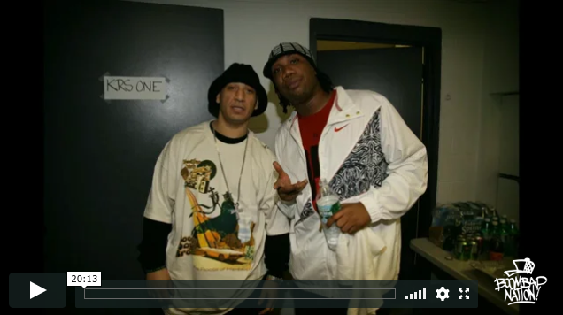 KRS-One and DJ Kid Capri: The Block Party